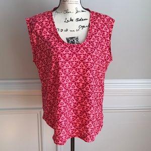 J Crew patterned blouse